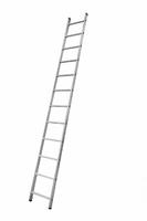 Алюминиевая односекционная приставная лестница на 12 ступеней купить на ТехПром