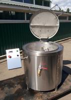 Котел пищеварочный масляный КПЭ-100М эталон купить на ТехПром