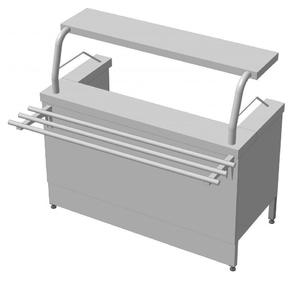 Марміт перших страв (МСЕ-1) МАЙСТЕР 304/430 VS 1500.0 (мм)