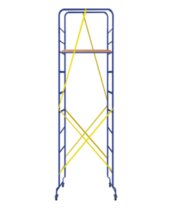 Міні підмостки Майстерок- 3 розмір настилу 0.46 х 1.51 (м)