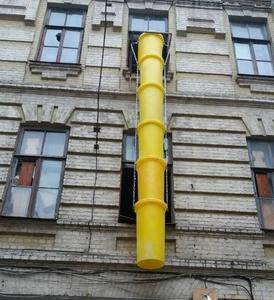 Мусороспуск будівельний 25 (м)
