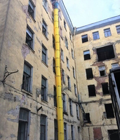 Мусороспуск 36 (м), строительный рукав для мусора купить на ТехПром
