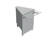 Нейтральный элемент угловой (НЭ-У) наружный 45° СТАНДАРТ 304/Ст.3 (без полок) купить на ТехПром