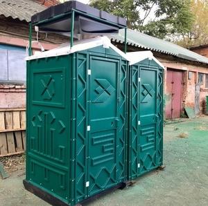 Душевая кабина пластиковая - зеленый цвет фото 1 ТехПром