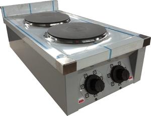 Плита електрична кухонна настільна ЕПК-2 Еталон d-220 мм