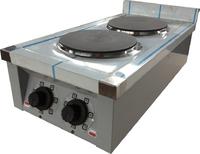 Плита электрическая кухонная настольная ЭПК-2 стандарт d-220 мм купить на ТехПром