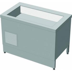 Прилавок холодильный без бокса (ПВХЛС) МАСТЕР 201/201 VS 1000.0 (мм) фото 1 ТехПром
