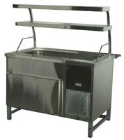 Прилавок холодильный без бокса (ПВХЛС) МАСТЕР 304/304 VSOP 1800.0 (мм)