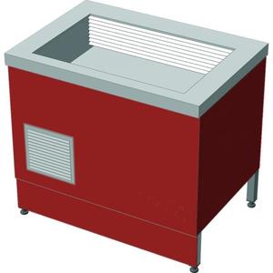 Прилавок холодильный без бокса (ПВХЛС) МАСТЕР 304/430 VSOP-1, 1500.0 (мм) фото 1 ТехПром