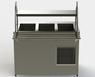 Прилавок холодильный без бокса (ПВХЛС) МАСТЕР 304/Ст.3 VSOP-1, 1000.0 (мм) фото 2 ТехПром