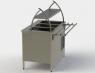 Прилавок холодильный без бокса (ПВХЛС) СТАНДАРТ 304/Ст.3 VS 1800.0 (мм)