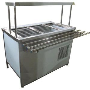 Прилавок холодильный с боксом (ПВХЛС) МАСТЕР 304/304 VS 1500.0 (мм)