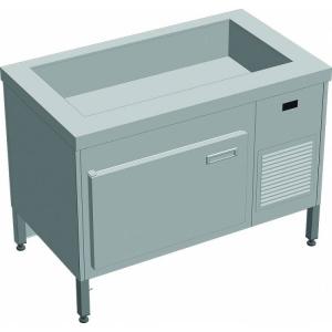 Прилавок холодильный с боксом (ПВХЛС) МАСТЕР 304/304 VSOP-1, 1500.0 (мм) фото 1 ТехПром