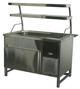 Прилавок холодильный с боксом (ПВХЛС) СТАНДАРТ 304/Ст.3 VSOP 1200.0 (мм)