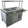 Прилавок холодильный с боксом (ПВХЛС) СТАНДАРТ 304/Ст.3 FRIGATA 1200.0 (мм)