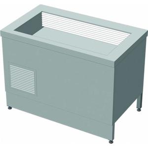 Прилавок холодильный с боксом (ПВХЛС) СТАНДАРТ 304/Ст.3 FRIGATA 1500.0 (мм) фото 1 ТехПром