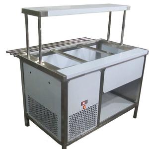 Прилавок холодильный с боксом (ПВХЛС) СТАНДАРТ 304/Ст.3 VSOP-1, 1800.0 (мм) фото 1 ТехПром