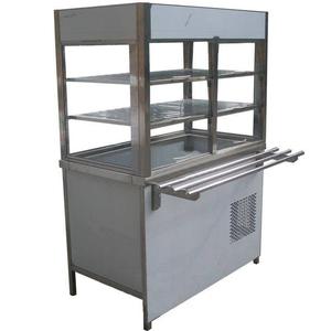 Прилавок-витрина холодильный с боксом (ПВХЛС-К) МАСТЕР 201/201, 1800.0 (мм)