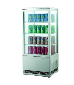 Шкаф-витрина холодильная EWT INOX RT78L купить на ТехПром