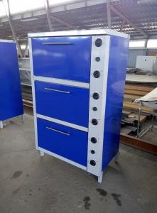 Шкаф жарочный электрический трехсекционный с плавной регулировкой мощности ШЖЭ-3-GN2/1 мастер фото 1 ТехПром