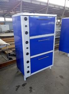 Шкаф жарочный электрический трехсекционный  с плавной регулировкой мощности ШЖЭ-3-GN2/1 стандарт фото 1 ТехПром