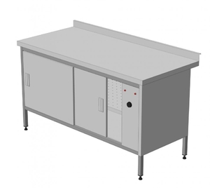 Стол тепловой - Статический 1500 х 800 х 850 (мм) купить на ТехПром