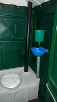 Туалетная кабина (биотуалет) + раковина и умывальник от 4х единиц купить на ТехПром