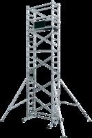 Вышка тура алюминиевая базовый комплект ВТ8 с двумя надстройками купить на ТехПром