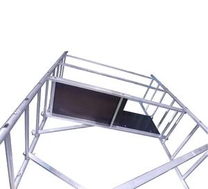 Вышка тура алюминиевая надстройка для ВТ-8 купить на ТехПром